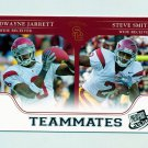 2007 Press Pass Football #97 Steve Smith / Dwayne Jarrett - USC Trojans