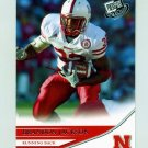 2007 Press Pass Football #09 Brandon Jackson - Nebraska Cornhuskers