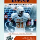 2007 Press Pass Reflectors Blue Football #73 Aaron Ross TC - Texas Longhorns
