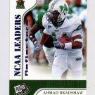 2007 Press Pass Reflectors Blue Football #59 Ahmad Bradshaw LDR - Marshall