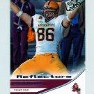 2007 Press Pass Reflectors Blue Football #39 Zach Miller - Arizona State Sun Devils