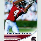 2007 Press Pass Reflectors Blue Football #20 Sidney Rice - South Carolina Gamecocks
