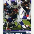 2008 Stadium Club Football #096 Chester Taylor - Minnesota Vikings