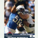 2008 Stadium Club Football #095 Shawne Merriman - San Diego Chargers