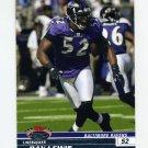 2008 Stadium Club Football #074 Ray Lewis - Baltimore Ravens