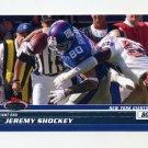 2008 Stadium Club Football #070 Jeremy Shockey - New York Giants