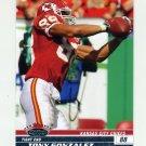 2008 Stadium Club Football #063 Tony Gonzalez - Kansas City Chiefs