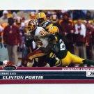 2008 Stadium Club Football #012 Clinton Portis - Washington Redskins