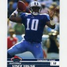 2008 Stadium Club Football #009 Vince Young - Tennessee Titans