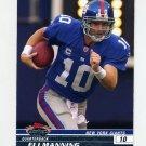 2008 Stadium Club Football #006 Eli Manning - New York Giants