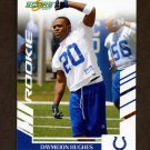 2007 Score Football #329 Daymeion Hughes RC - Indianapolis Colts