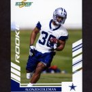 2007 Score Football #321 Alonzo Coleman RC - Dallas Cowboys