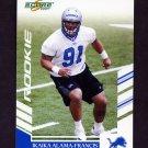 2007 Score Football #305 Ikaika Alama-Francis RC - Detroit Lions