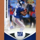 2011 Panini Gridiron Gear Football #141 Ahmad Bradshaw - New York Giants
