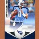 2011 Panini Gridiron Gear Football #126 Matt Hasselbeck - Tennessee Titans
