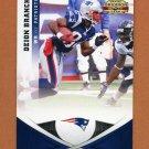 2011 Panini Gridiron Gear Football #001 Deion Branch - New England Patriots