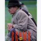 1992 Browns Sunoco Football #02 Paul Brown CO - Cleveland Browns NM-M