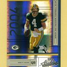 2004 Absolute Memorabilia Football #052 Brett Favre - Green Bay Packers 1133/1150.