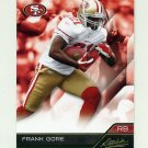 2011 Absolute Memorabilia Retail Football #084 Frank Gore - San Francisco 49ers