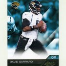 2011 Absolute Memorabilia Retail Football #047 David Garrard - Jacksonville Jaguars