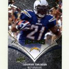 2008 Upper Deck Icons Football #079 LaDainian Tomlinson - San Diego Chargers
