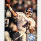 1991 Pro Set Platinum Football #028 John Elway - Denver Broncos ExMt