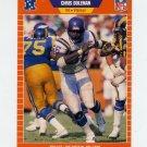 1989 Pro Set Football #229 Chris Doleman - Minnesota Vikings