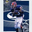 1998 UD Choice Starquest Football #23 Antowain Smith - Buffalo Bills