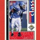 1998 UD Choice Football #208 Brian Simmons RC - Cincinnati Bengals