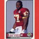 1998 UD Choice Football #189 Ken Harvey - Washington Redskins