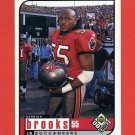 1998 UD Choice Football #177 Derrick Brooks - Tampa Bay Buccaneers