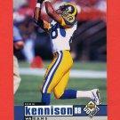 1998 UD Choice Football #152 Eddie Kennison - St. Louis Rams