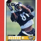 1998 UD Choice Football #142 Charles Johnson - Pittsburgh Steelers