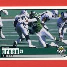 1998 UD Choice Football #128 Victor Green - New York Jets