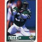 1998 UD Choice Football #126 Aaron Glenn - New York Jets