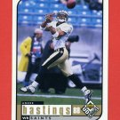 1998 UD Choice Football #104 Andre Hastings - New Orleans Saints