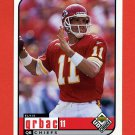 1998 UD Choice Football #089 Elvis Grbac - Kansas City Chiefs