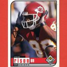 1998 UD Choice Football #084 Andre Rison - Kansas City Chiefs