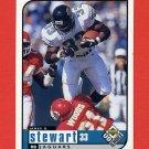 1998 UD Choice Football #081 James O. Stewart - Jacksonville Jaguars