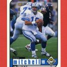 1998 UD Choice Football #058 Scott Mitchell - Detroit Lions