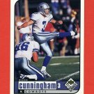 1998 UD Choice Football #050 Richie Cunningham - Dallas Cowboys