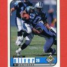 1998 UD Choice Football #028 Winslow Oliver - Carolina Panthers