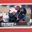 1998 UD Choice Football #007 Jamal Anderson - Atlanta Falcons