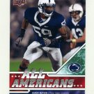 2009 Upper Deck Draft Edition Football #281 Aaron Maybin - Penn State University