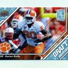 2009 Upper Deck Draft Edition Football #089 Aaron Kelly RC - Clemson