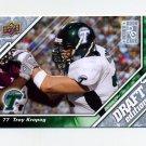 2009 Upper Deck Draft Edition Football #068 Troy Kropog RC - Tulane