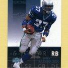 2002 Upper Deck Ovation Football #077 Shaun Alexander - Seattle Seahawks