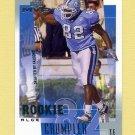 2001 Upper Deck MVP Football #307 Alge Crumpler RC - Atlanta Falcons