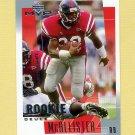 2001 Upper Deck MVP Football #295 Deuce McAllister RC - New Orleans Saints