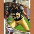 2009 Upper Deck Heroes Football #186 Aaron Curry RC - Wake Forest Demon Deacons
